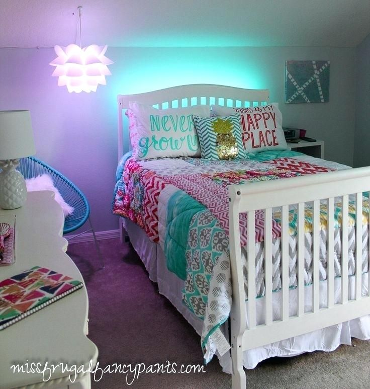 Unicorn Bedroom Ideas Tween Room Makeover With Lighting