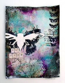 """I've always really dug inspirational bits in general. Along with that I love stamping and creating around the idea of """"inspiration.""""   Wheth..."""