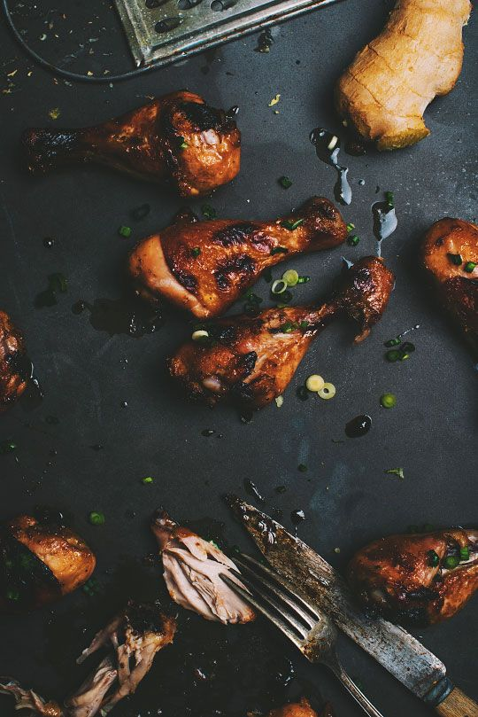 Photo of Chicken drumsticks with honey, ginger and Sriracha – Le Coup de Grâce