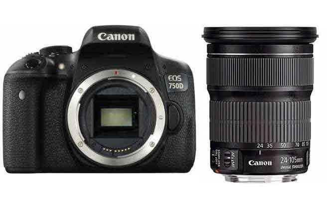 1 247 17 Canon Eos 750d Ef 24 105mm F 3 5 5 6 Is Stm Lens Kit Canon Eos Canon Eos