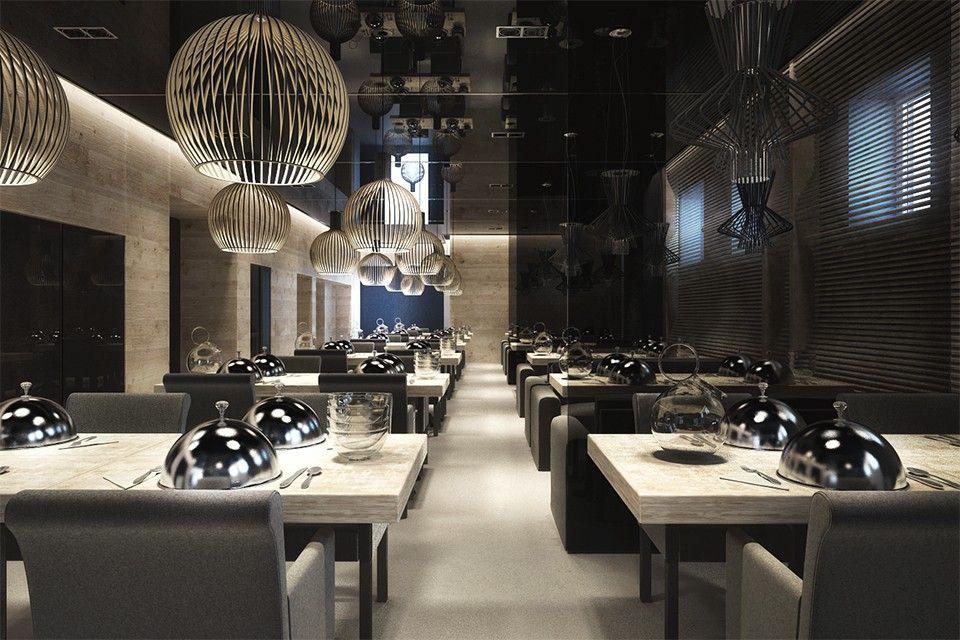 One - Design of restaurants, cafes from the Sergey Makhno – mahno.com.ua