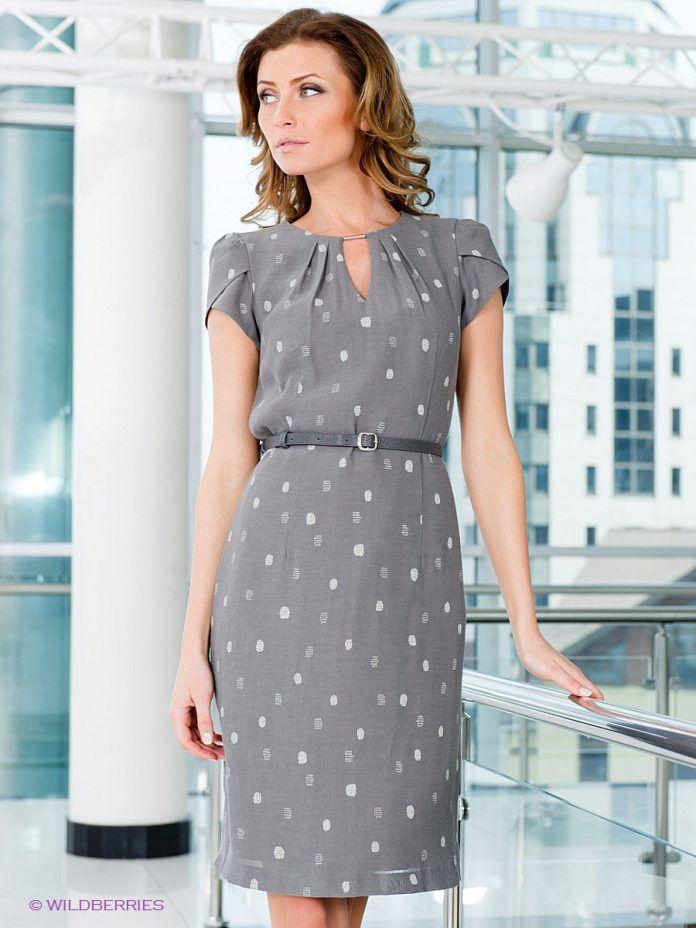 59d8a0b0b Модные офисные платья: 100 стильных фасонов, тенденций и новинок | Vestidos  em 2019 | Vestidos para senhoras, Vestido tubinho estampado e Roupas de  senhoras