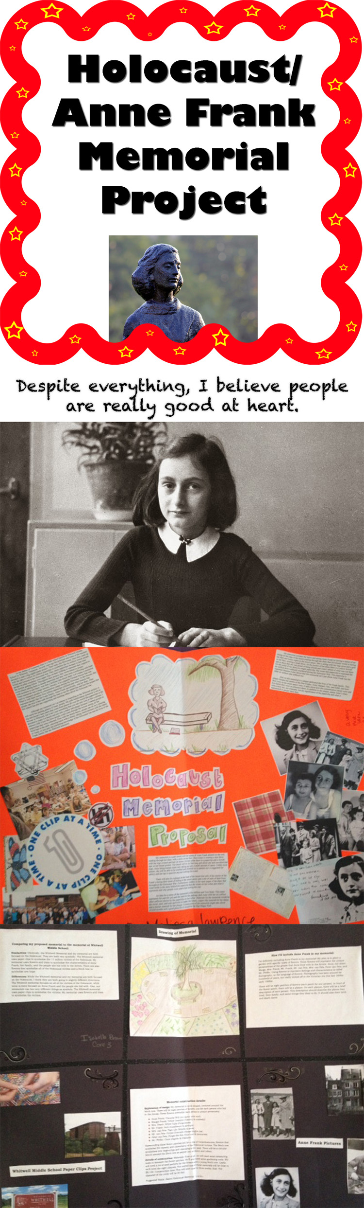 the diary of anne frank essay org resources for teaching the diary  holocaust diary of anne frank memorial project plays the o diary of anne frank paperclips holocaust