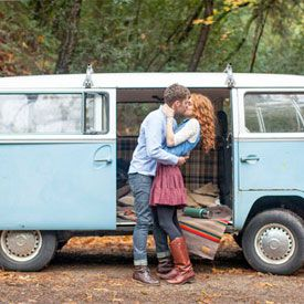 A sweet and adorable vintage love shoot in the mountains.