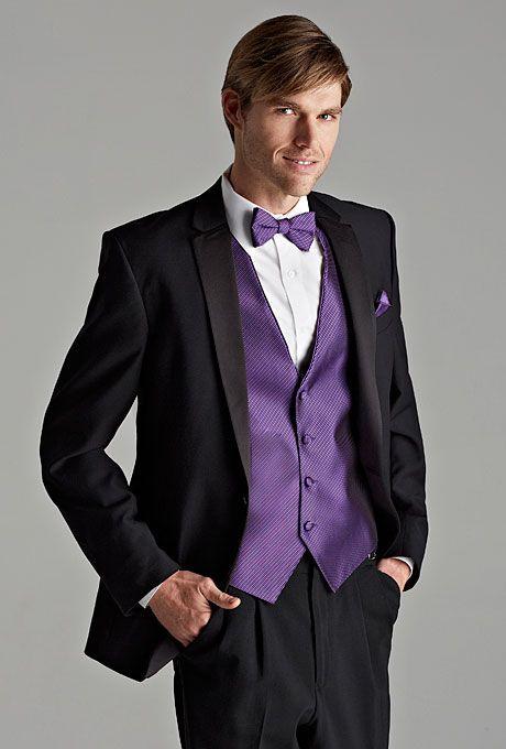 Jos A. Banks satin-notch lapel tuxedo, a stylish choice for any ...