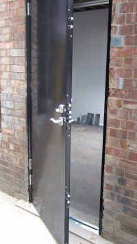 Commercial Security Doors commercial security doors | home security systems | pinterest