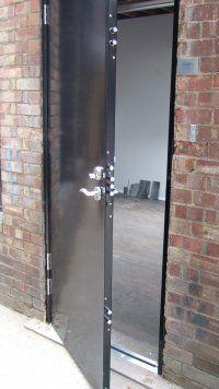 Commercial Security Doors | Security door, Diy home ...