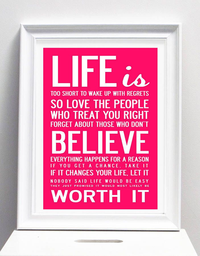 Life Canvas Quote Best Quote Paintings Inspirational Quotes Canvases