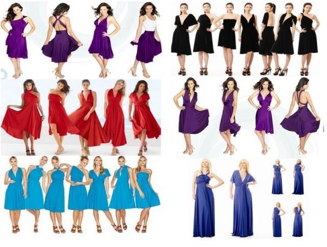 Infinity платье трансформер