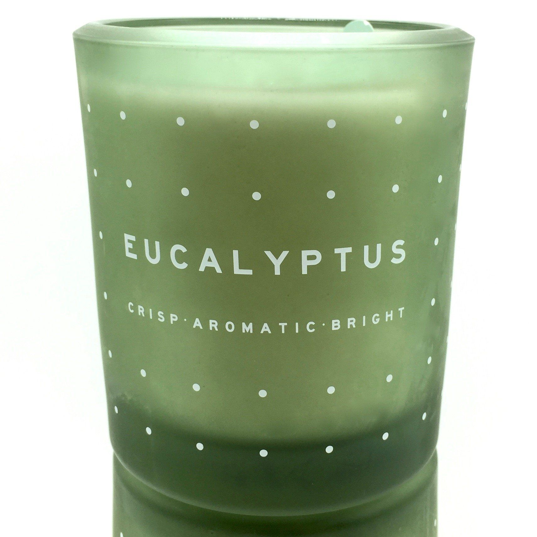 Amazon Com Dw Home Eucalyptus Richly Scented Candle In A Heavy