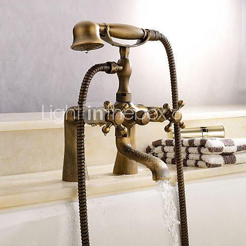 Centerset robinet en laiton antique baignoire de 2017 €101 91