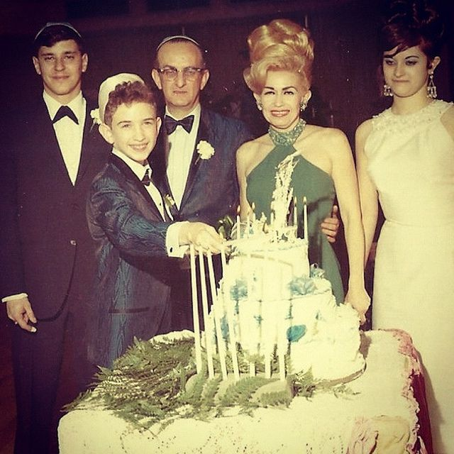 Vintage Photo 1960s Bar Mitzvah Family