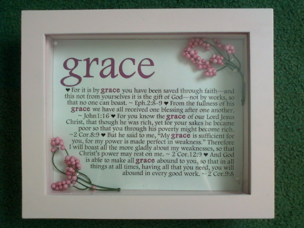 Baby shower gift for a little girl named grace my pinterest baby shower gift for a little girl named grace negle Image collections