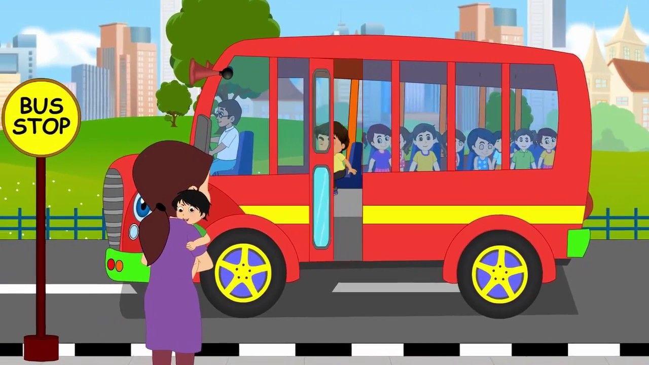 Nursery Rhymes And Kids Songs Wheels On The Bus Nursery Rhyme Is