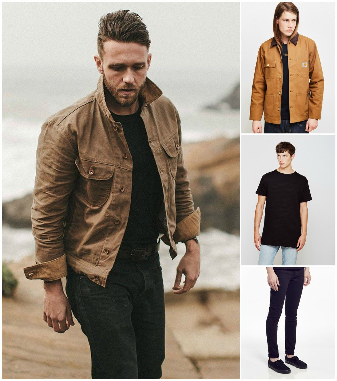 175be3ef5 How to Wear a Canvas Jacket | clothes | Great mens fashion, Canvas ...
