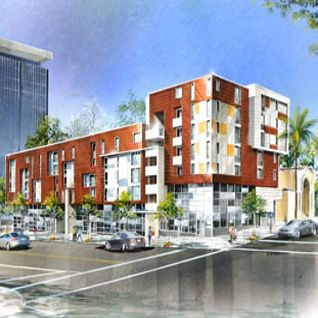 New Affordable Multifamily Special Needs Housing Opens Downtown Residential Building Multi Story Building