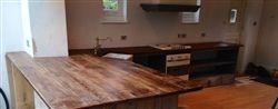 dibosco distressed reclaimed pine kitchen worktop