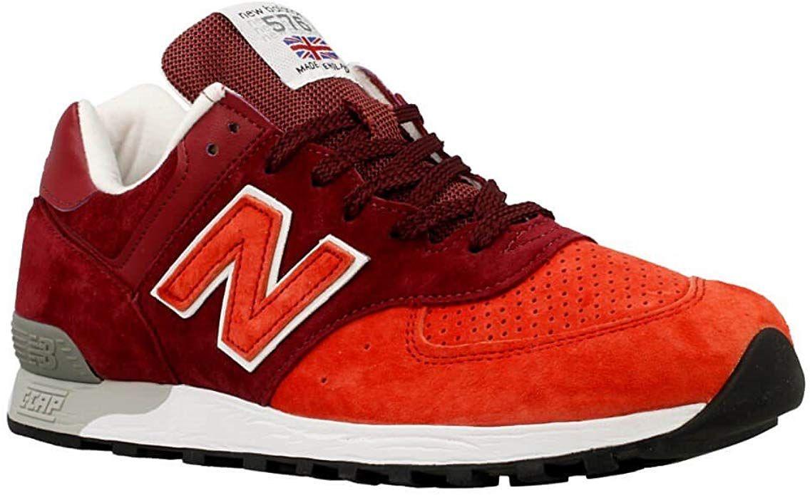 New Balance 576 Sneakers Herren Dunkelrot Rot New Balance Dunkelrot Herrin