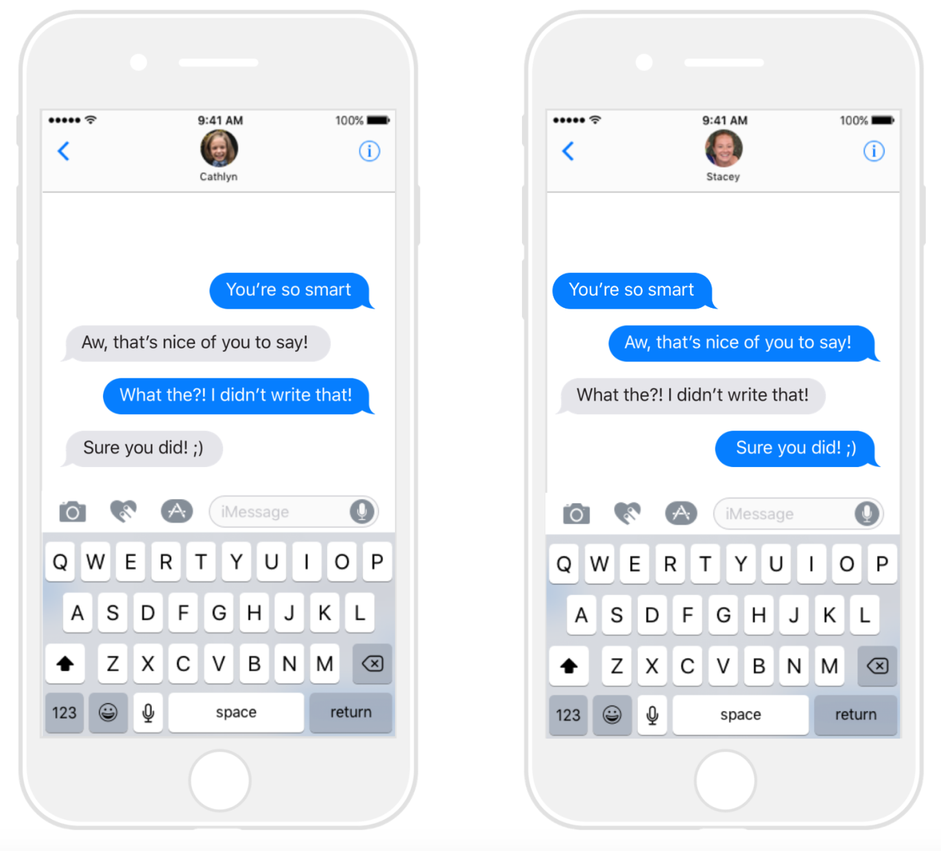 This Crazy Imessage App Lets You Prank Friends By Putting Words In Their Mouth Techcrunch Imessage App Imessage Sticker Pranks