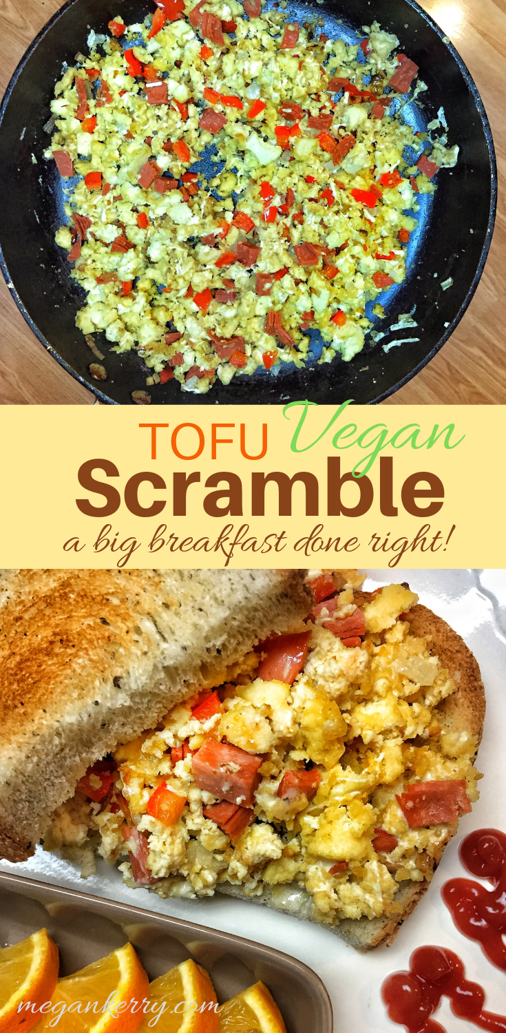 Basic Vegan Tofu Scramble