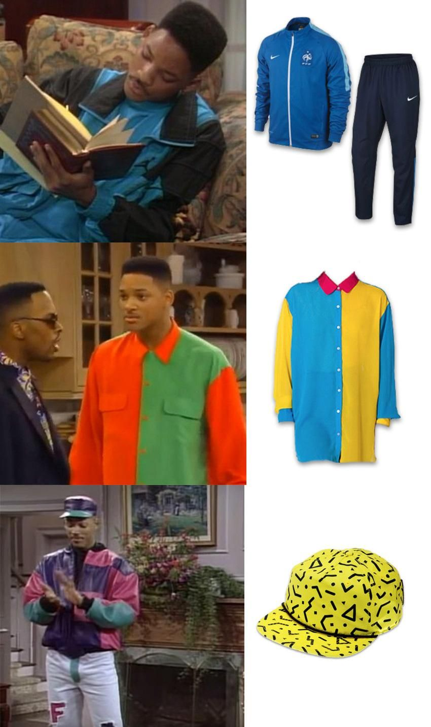 3be65c46b2e Here are some of the most notable outfits worn in the Fresh Prince of Bel  Air and how you can wear them today