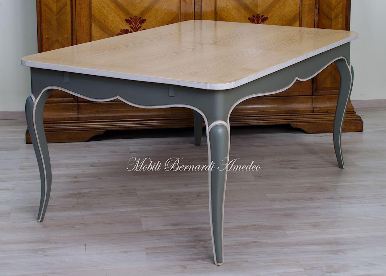 Tavolo Allargabile ~ Tavolo allungabile con gambe curve e piano in ciliegio cherrywood