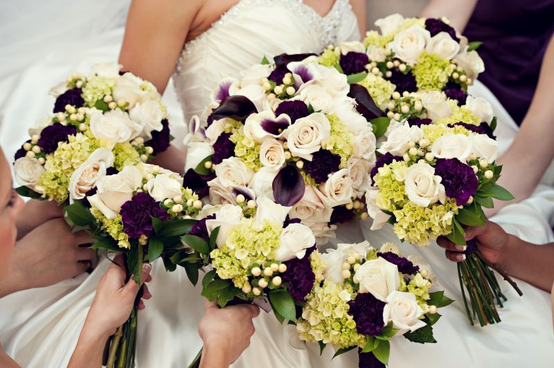 Blossom Basket Florist, Central Illinois' Premiere Wedding Florist, Designed Custom Floral Arrangements for Weddings