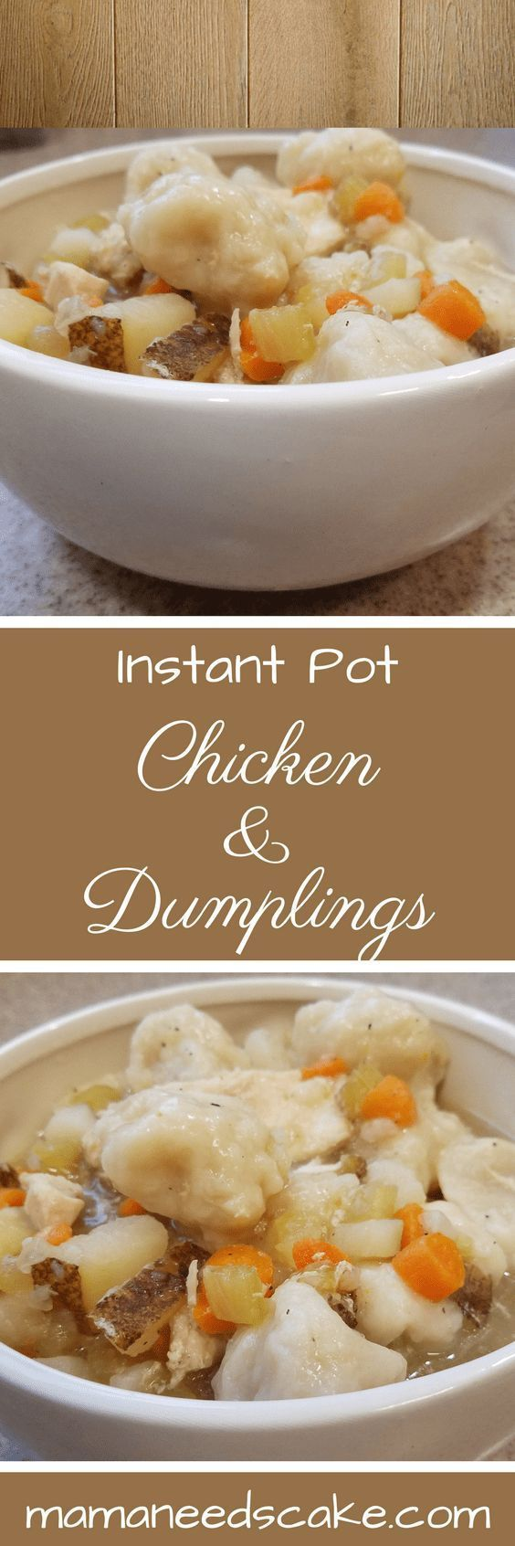 instant pot chicken  dumplings chicken  dumplings are a