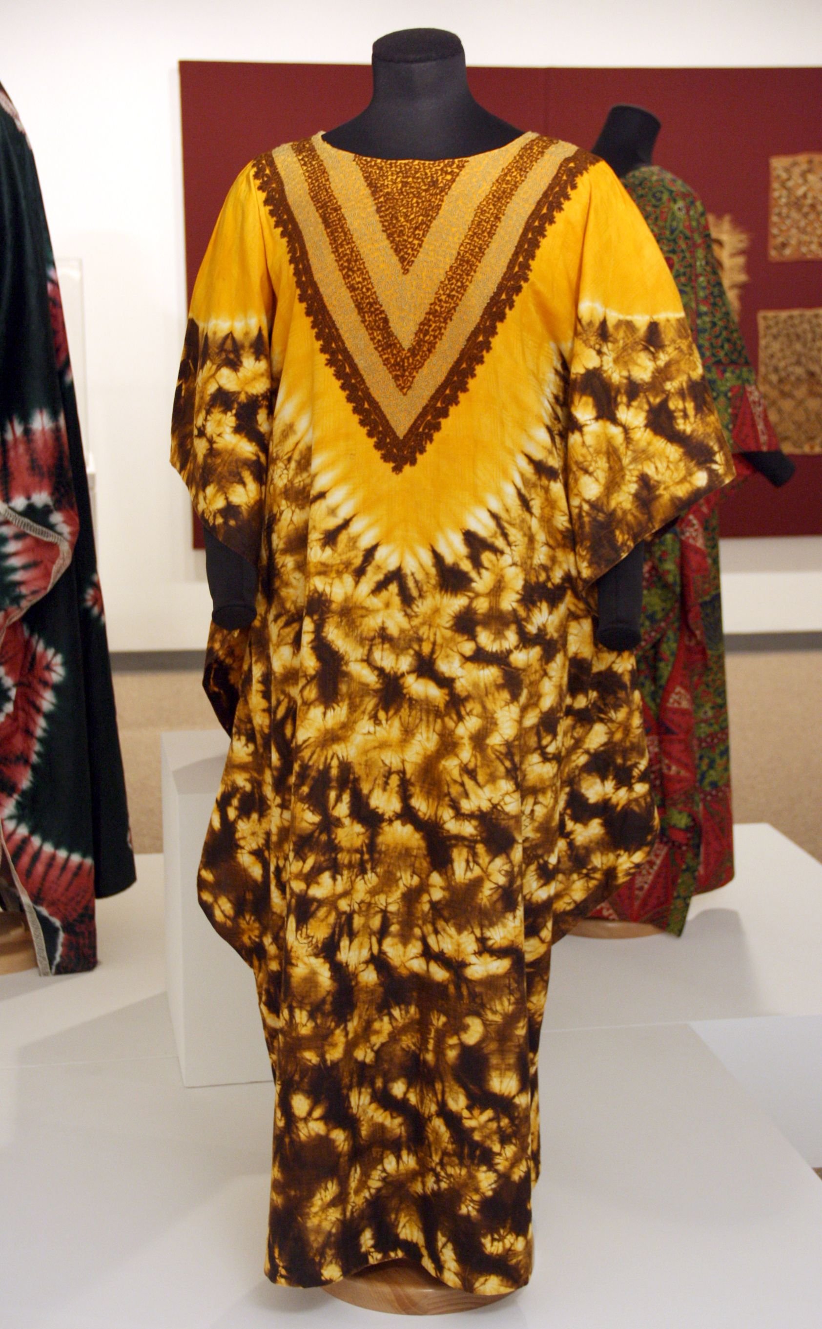 Dyed M Boubou Featured In Measure Of Earth Textiles And Territory In West Africa Opening At The African Ameri African Textiles African Fashion Royal Fashion