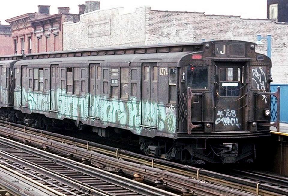Graffiti History Tracy168 E Lava 1 2 1974 Head Spot Nyc Subway New York Subway Queens Nyc