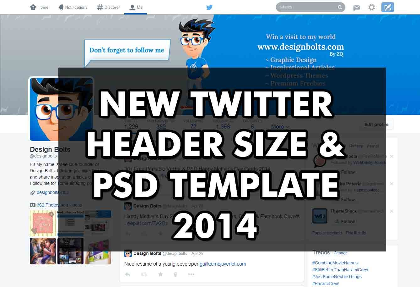 New Twitter Header Banner Size Free Psd Mockup Template 2014 Header Banner Mockup Free Psd Free Psd Mockups Templates
