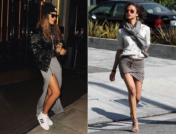 outfit falda LARGA gris invierno - Buscar con Google