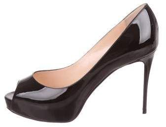 low priced 85c9a 96872 Christian Louboutin New Very Prive 100 Patent Leather Pumps ...