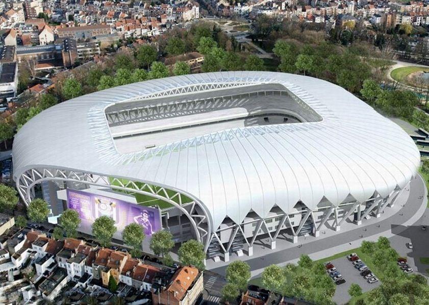 Interior Coface Arena Maguncia Alemania Capacidad 34