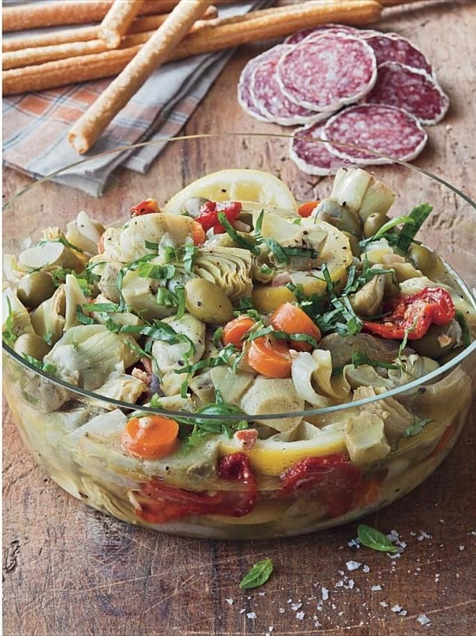 Marinated Artichoke Salad Barefoot Contessa