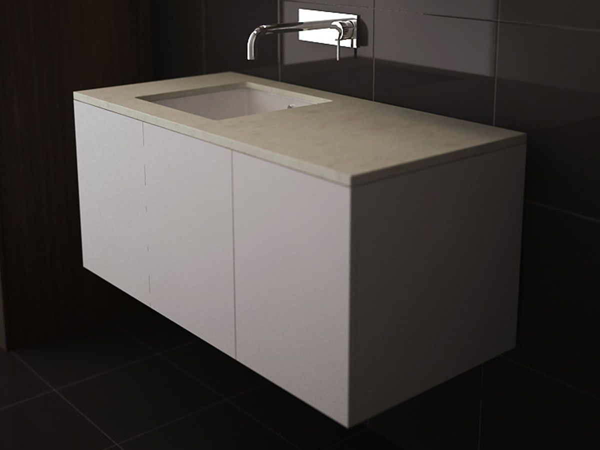 Kado Lure 1050 Wall Hung Vanity Unit from Reece. How to select a Bathroom Vanity Cabinet online   bathroom vanities