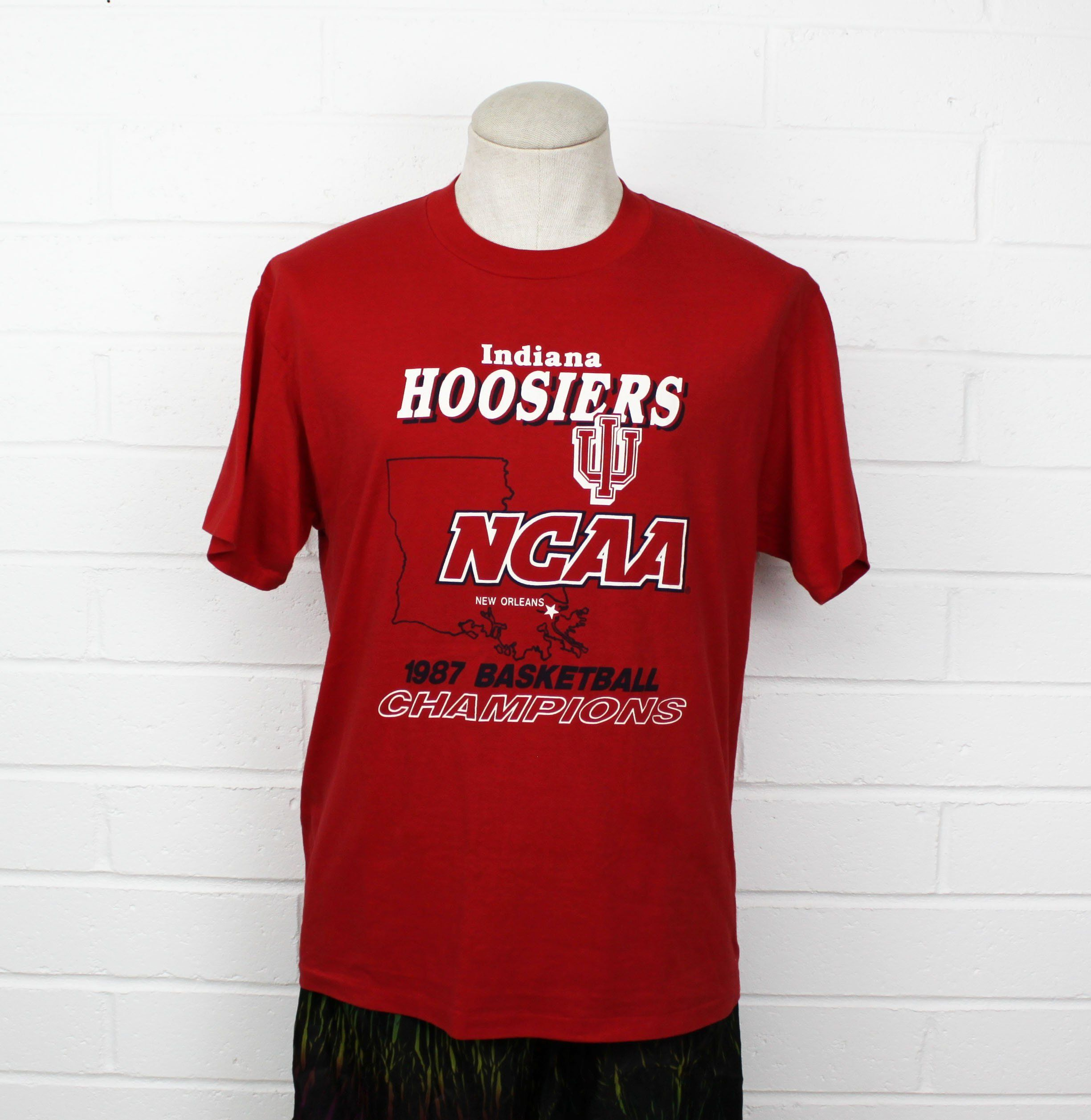 2e1078ea616 Indiana Hoosiers Basketball Shirt - DREAMWORKS