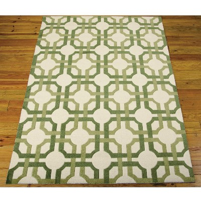 Best Waverly Geo Accent Rug Green 2 6 X4 Geometric Rug 400 x 300