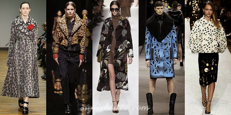 Winter 2014 - 2015 Women's Coats Fashion Trends