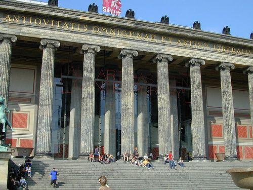 Altes Museum By Schinkle Greek Revival Museum Art Gallery