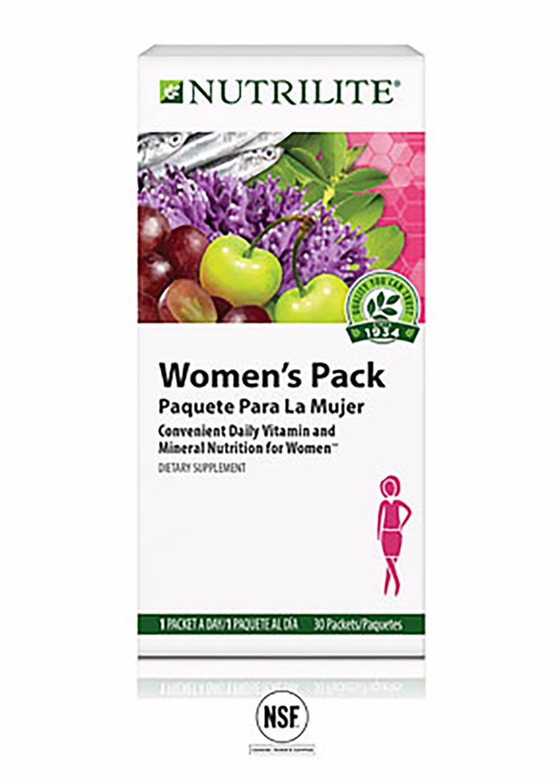 Details About Amway Nutrilite Women S Pack For Healthy Hair Skin