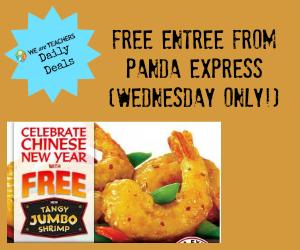 Panda Express Coupon Free Tangy Jumbo Shrimp Weareteachers Panda Express Yummy Jumbo Shrimp