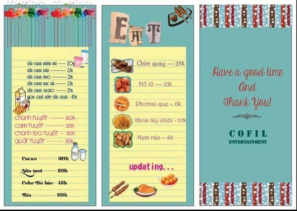 Mẫu Menu đồ ăn đồ Uống In Menu Pinterest Menu   Cocktail Menu Template Free  Download  Cocktail Menu Template Free Download