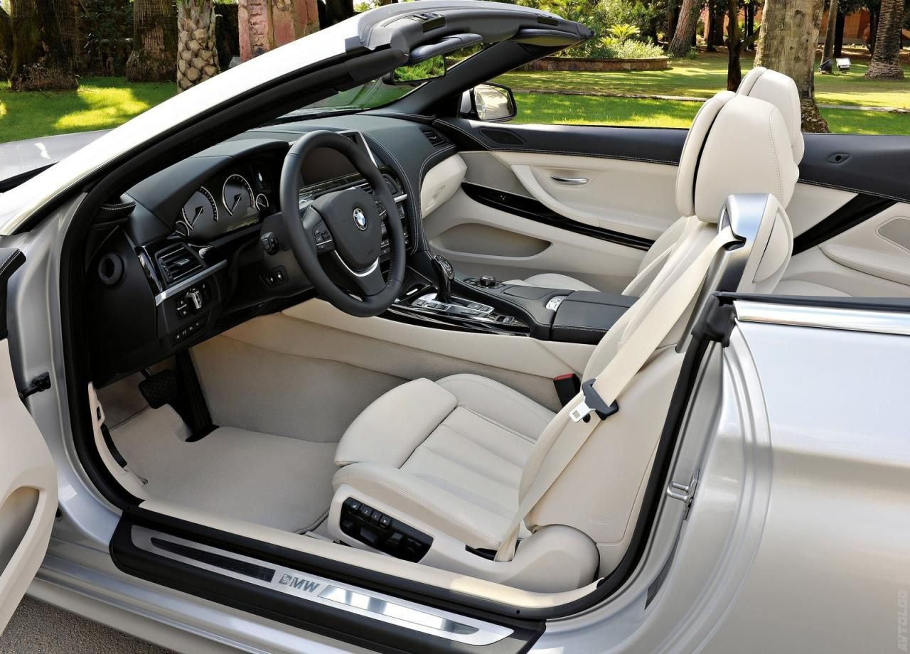BMW 650i Xdrive Convertible Interior...Elegance and Very High Tech.