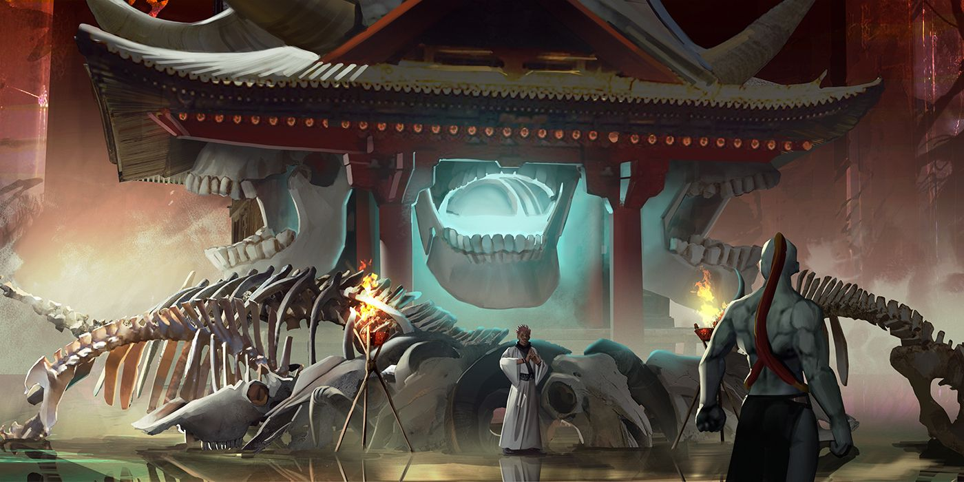 Jakusonn On Twitter In 2021 Jujutsu Anime Knight Shrine