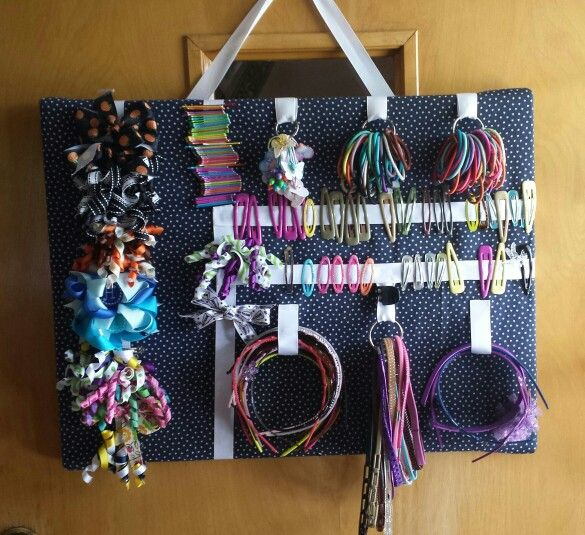 Pin By Jackie Williams On Organization Organizing Hair Accessories Hair Accessories Storage Diy Hair Accessories