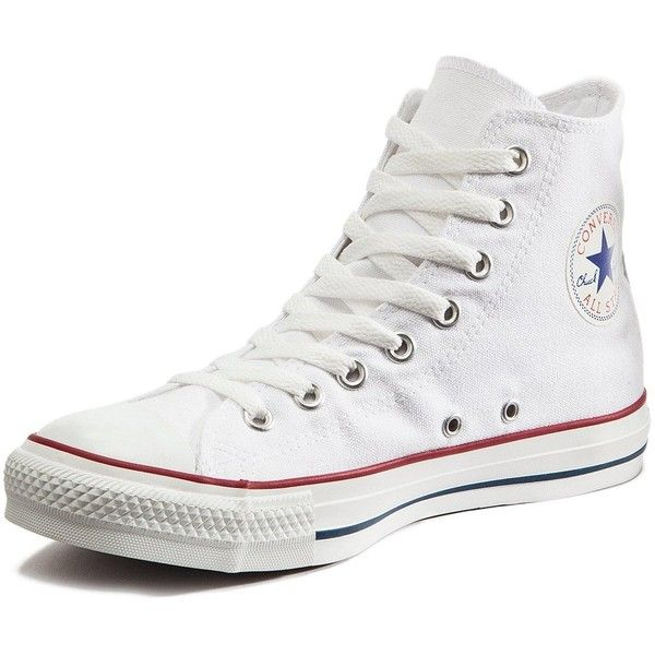 Converse Chuck Taylor All Star Hi-Tops (430 DKK) ❤ liked on Polyvore featuring shoes, sneakers, bear trainer, retro high top sneakers, high-top sneakers, perforated sneakers and converse sneakers