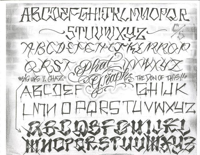 Chicano Style Script