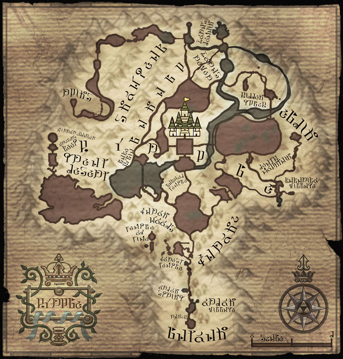 The Legend of Zelda™ Majora/'s Mask Termina Map Collector/'s Puzzle