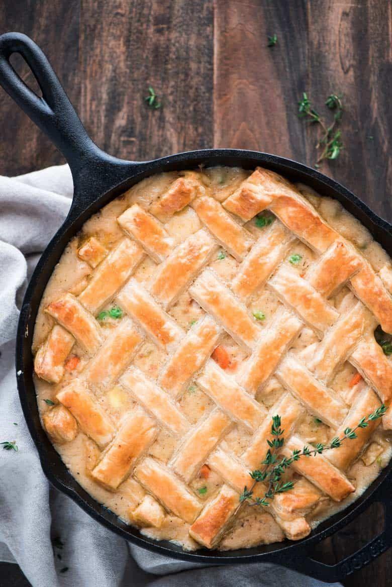 One Skillet Chicken Pot Pie The Recipe Critic Easy